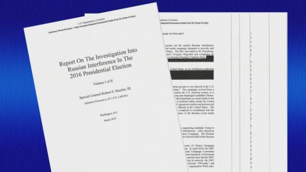 DOJ Releases Mueller Report