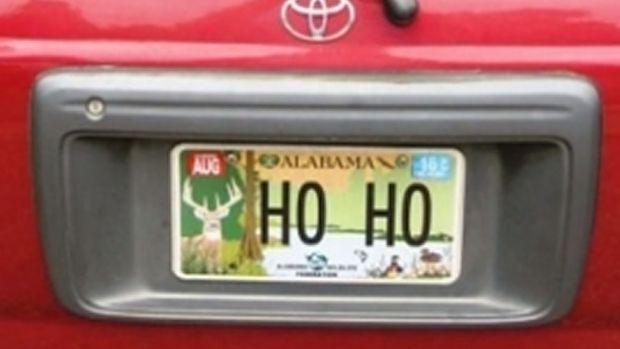 [NATL-DFW] Vanity Plate Lands Santa on Naughty List