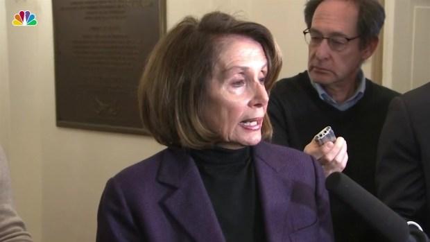 [NATL-BAY] Nancy Pelosi Says Admin. Was 'Irresponsible' in Disclosing Her Congressional Trip