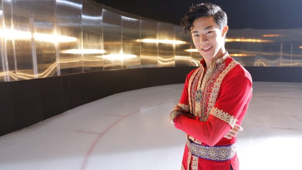Model Olympian: Nathan Chen
