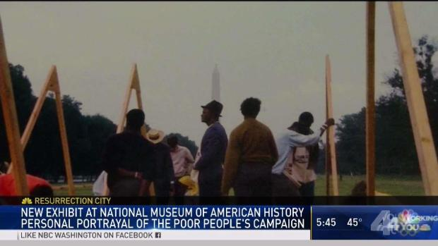 [DC] New Exhibit Honors MLK's Poor People's Campaign for Equality