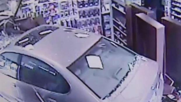 [DC] No One Injured When Car Crashed Into Pharmacy