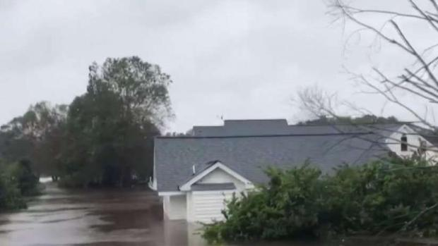 North Carolina Homes Submerged After Florence