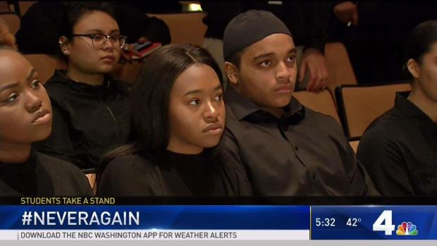 Oxon Hill Students Honor Parkland Victims, Express Their Own Fears