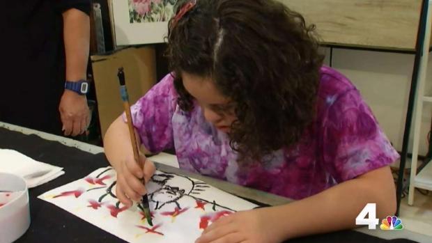 Peruvian-American Teen Artist Featured in Virginia Museum