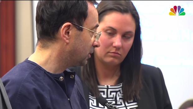 [NATL] Nassar: Victim Statements Have 'Shaken Me to My Core'