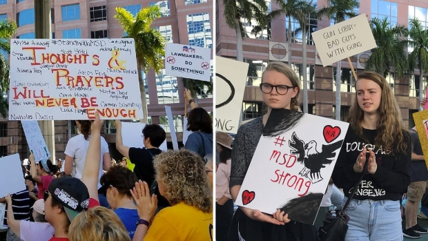 [NATL]Messages From South Floridians to Lawmakers on Gun Control