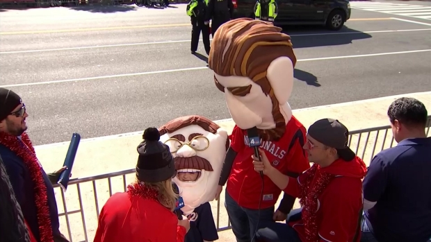 Fans Don Impressive Homemade Racing Presidents Costumes