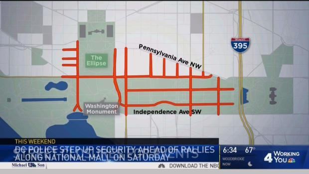 [DC] Several Rallies, Events Planned for National Mall Sat.