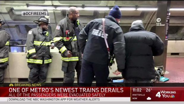 [DC] Cause of Red Line Train Derailment Remains Unclear