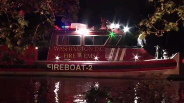 Rescue Operation Underway After Car Crashes Into Potomac