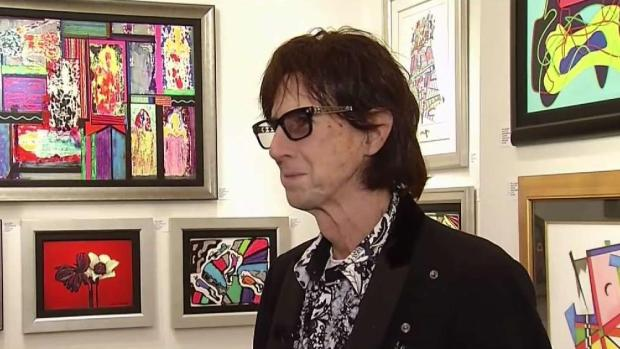 [DC] Rock and Roll Hall of Famer Ocasek Brings Art Tour to Town