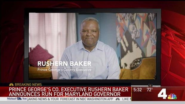 [DC] Rushern Baker Announces Run for Governor