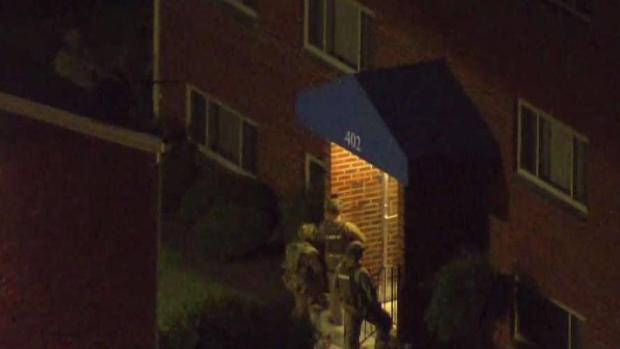 [DC] SWAT Team Surrounds Shooting Suspect's Home