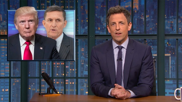 [NATL] 'Late Night': Closer Look at Michael Flynn, GOP Health Care