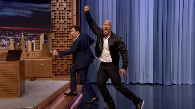 Tonight: Dwayne'The Rock Johnson on Running for President