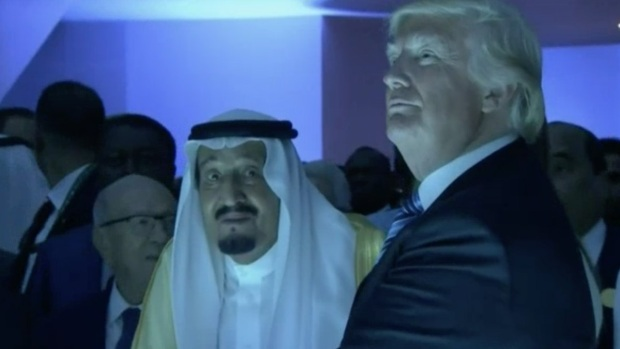 [NATL] Trump, King Salman Open Counter Terrorism Center in Saudi Arabia