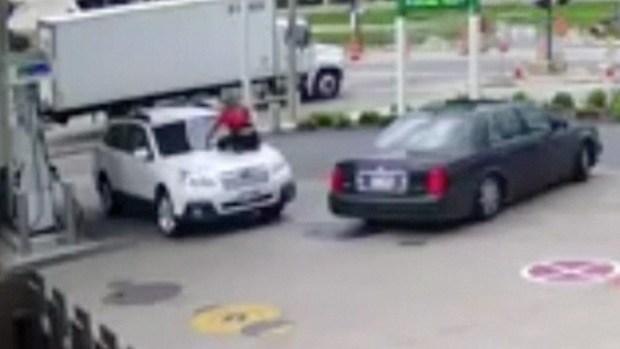 [NATL-MI] Wild Ride: Wisconsin Woman Takes on Car Thief