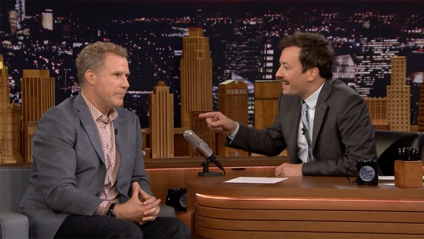 [NATL] 'Tonight': Will Ferrell Has One Great Gambling Story