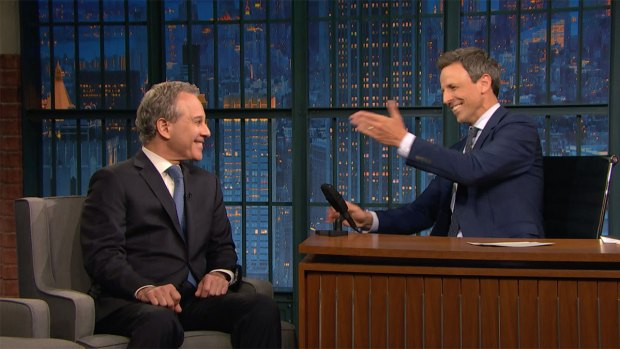 [NATL] 'Late Night': NY Attorney General Schneiderman Talks Suing Trump