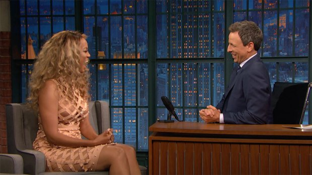 [NATL] 'Late Night': Tyra Banks Dishes on Her Favorite 'AGT' Singer