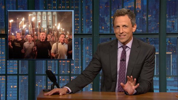 [NATL] 'Late Night': Closer Look at the Violence in Charlottesville
