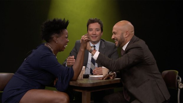 [NATL] 'Tonight': True Confessions With Leslie Jones, Keegan-Michael Key