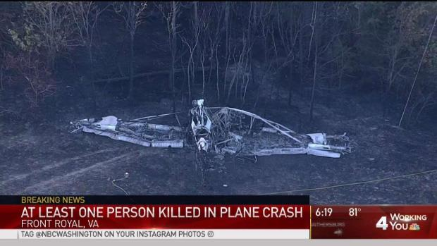 1 Dead After Small Plane Crashes in Front Royal | NBC4
