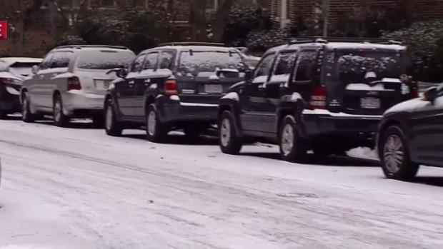 [DC] Snow Covered Roads May Slip Up Drivers