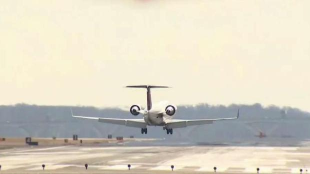 Strong Winds Make for Tricky Landings at DCA