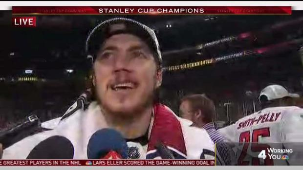 [DC] TJ Oshie Brought to Tears After Stanley Cup Win