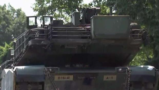 [DC] Tanks for July 4th Celebration Come in on Trains
