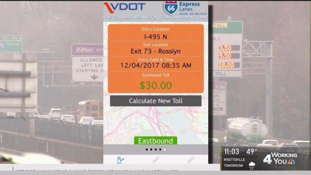 [DC] Toll Prices Soar as I-66 Express Lanes Launch