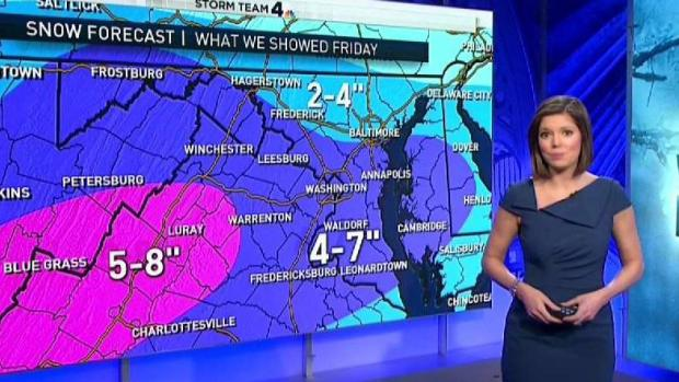Tracking January's Winter Storm Snow Totals