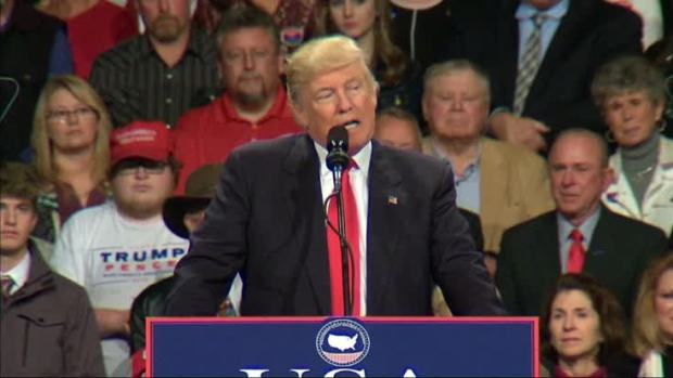 [NATL] Trump Critical of China at Iowa Rally