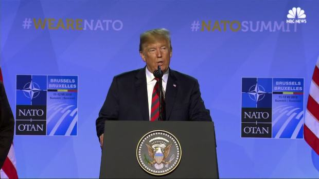 [NATL] Trump Says NATO Allies Will Boost Military Spending