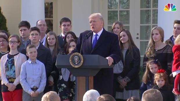 [NATL] Trump Addresses Anti-Abortion Marchers From the White House