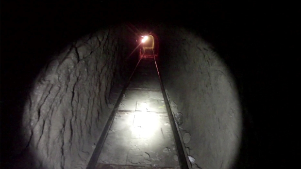 Inside Drug Tunnel Bust