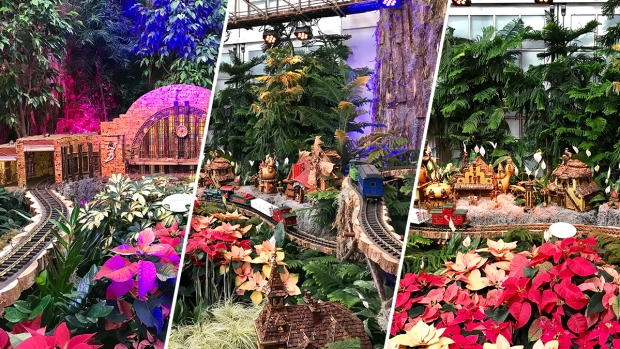 Look Ahead: US Botanic Garden's Holiday Train Display