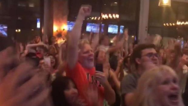 [DC] UVa. Fans Celebrate Cavaliers' Win in Final Four