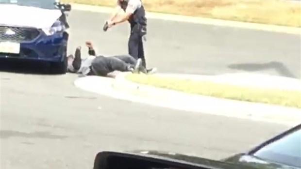 [DC] Raw Video of Fairfax County Police Stun Gun Deployment