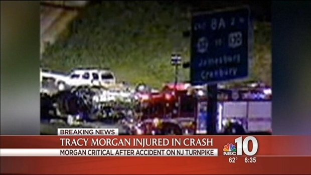 [PHI] Tracy Morgan Critically Hurt in Crash