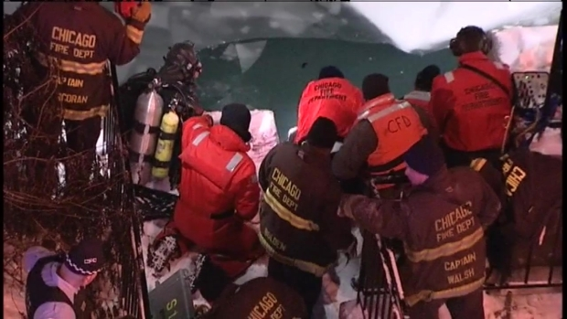 [CHI] Crews Pull Woman From Chicago River