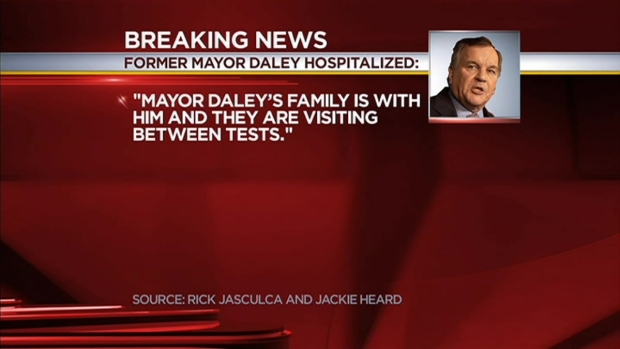 [CHI] Former Chicago Mayor Richard Daley Hospitalized