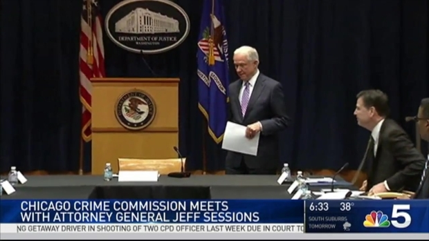 [NATL-CHI] Chicago Crime Commission to Meet With AG Jeff Sessions Staff