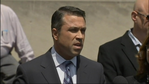 [NY] Rep. Michael Grimm Outside Court: I'm Not Stepping Down