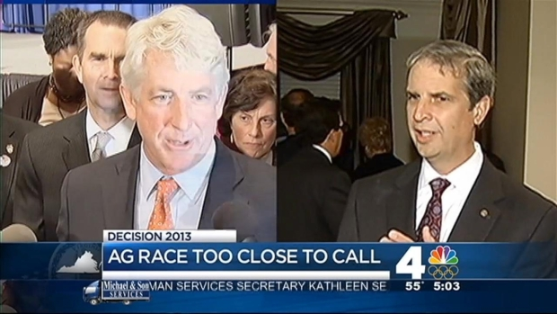 [DC] Va. Attorney General Race Still Undecided