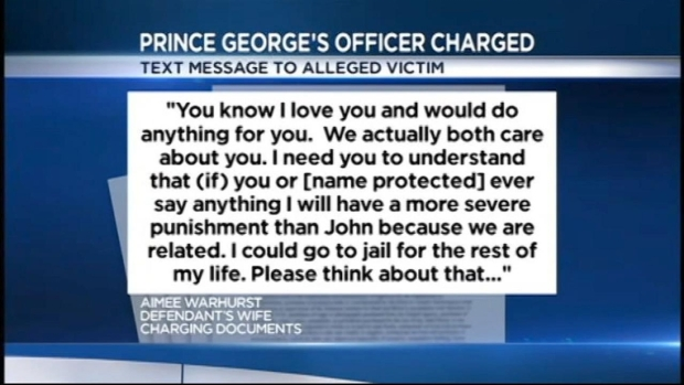 [DC] Prince George's County Police Officer Charged With Sex Crimes