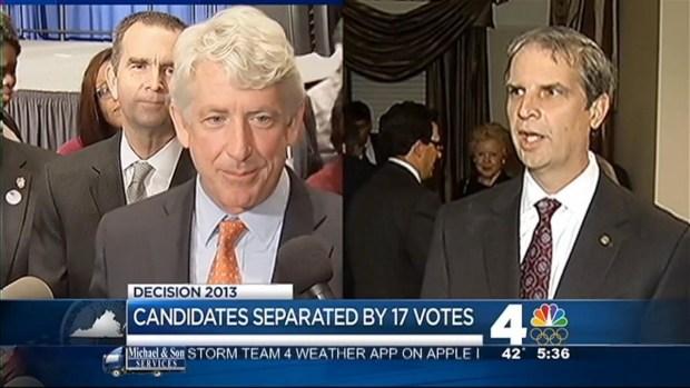 [DC] Margin Between Va.'s Atty Gen. Candidates Narrows to 17