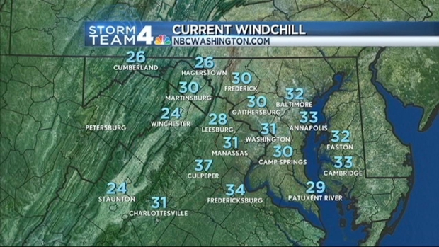 [DC] Temperatures Dropping More Than 20 Degrees